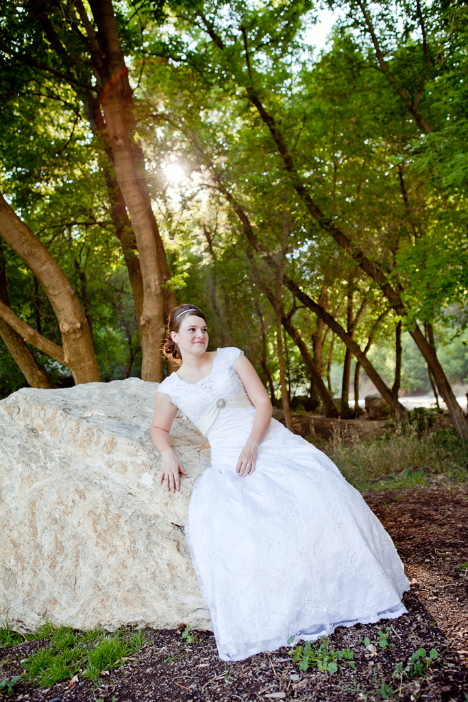 Bridal in Provo Canyon - Chelsea