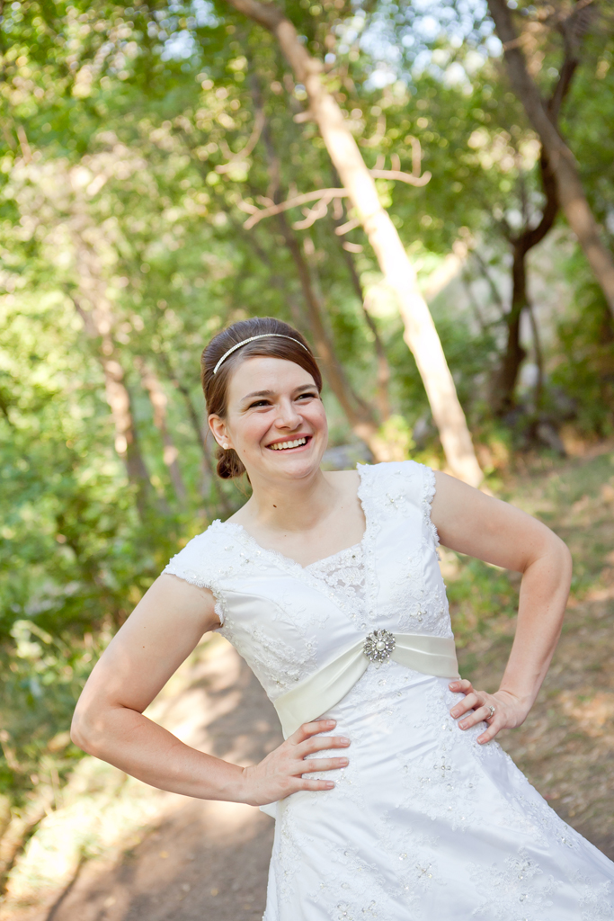 Bridal Photography Provo Canyon - Chelsea